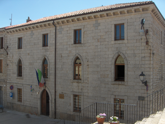 Province of Olbia-Tempio - Province Hall in Tempio Pausania