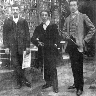 Roberto Firpo - Roberto Firpo (left) and his trio.