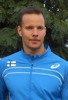 Tero Pitkämäki Finnish javelin thrower
