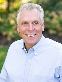 Terry McAuliffe 72nd Governor of Virginia
