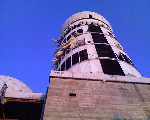 Teufelsberg berlin - main tower - june 2009