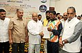 """Thaawar Chand Gehlot felicitated the """"Rio Paralympic medalists, members of T-20 Asia Cup Indian Blind Cricket Team and Indian Blind Para & Para Judo"""", at a function, in New Delhi (2).jpg"""