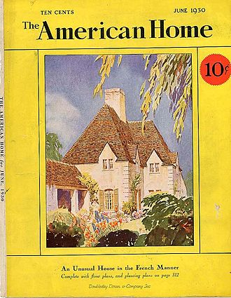The American Home - June 1930 issue of The American Home