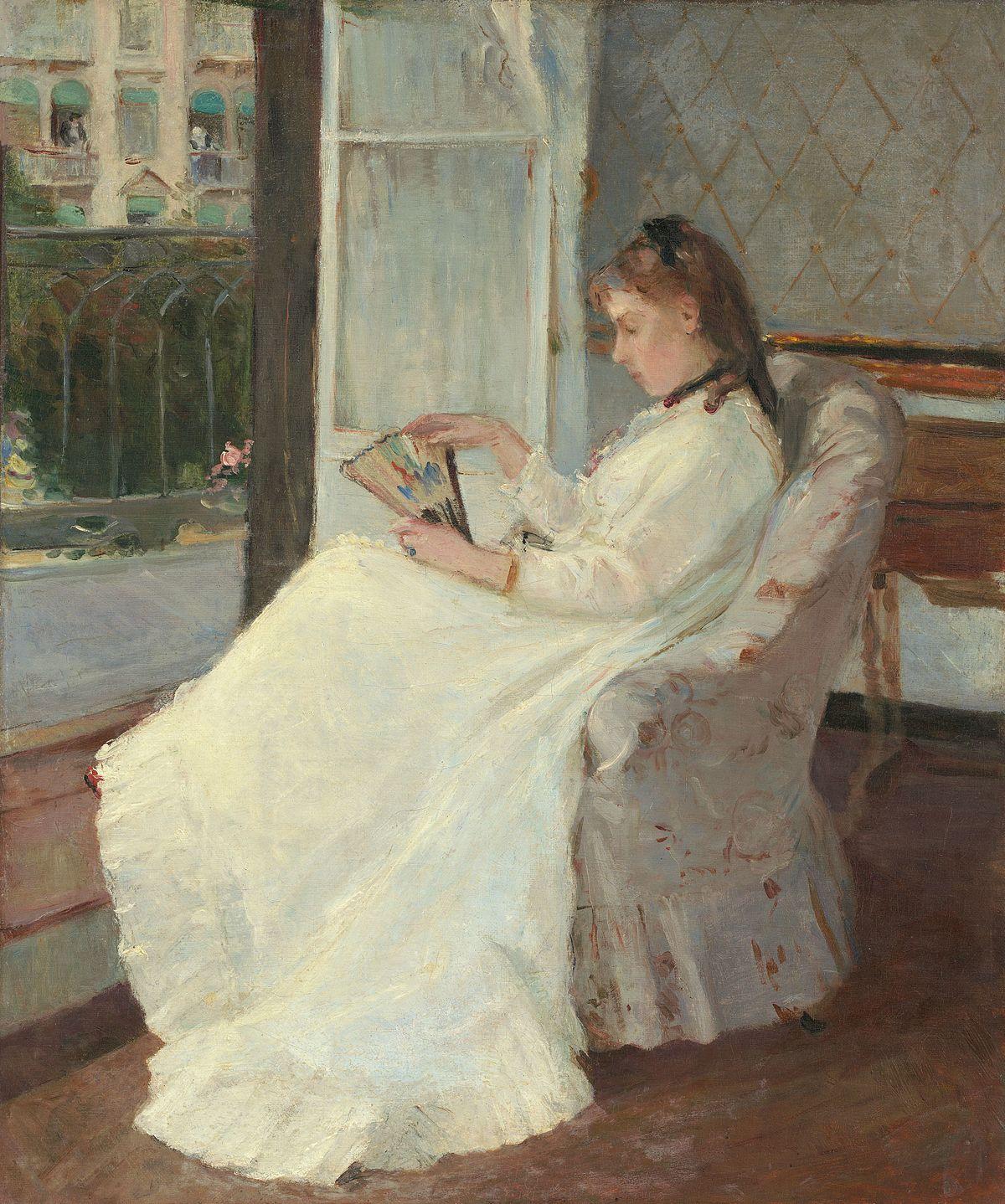 File:The Artist's Sister at a Window A16570.jpg - 维基百科,自由的百科全书