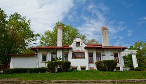 National Register of Historic Places listings in Jasper County, Iowa - Image: The August H. Bergman House