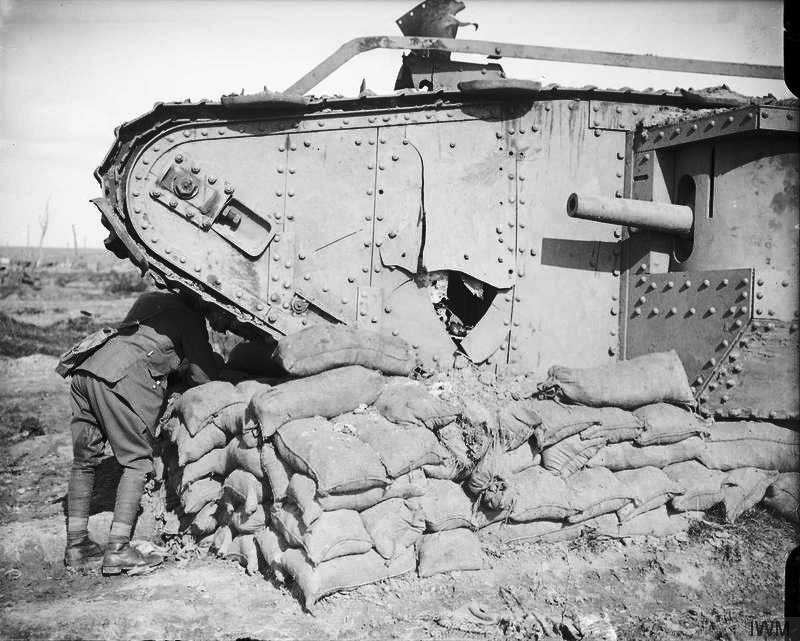 The Battle of Passchendaele, July-november 1917 Q6416