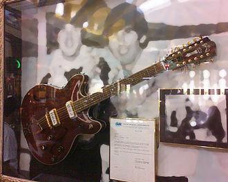 Guild Guitar Company - Beatle John Lennon's 1966 Guild Starfire XII twelve-string