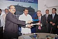 The Chairman, Paradip Port Trust, Shri K. Raghuramaiah and the Vice Chairman, Nobel Group.jpg