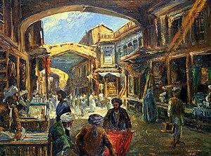 Abdul Ghafoor Breshna - Image: The Char Chatta Bazaar of Kabul