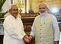 The Chief Minister of Bihar, Shri Nitish Kumar calls on the Prime Minister, Shri Narendra Modi, in New Delhi on May 27, 2017.jpg