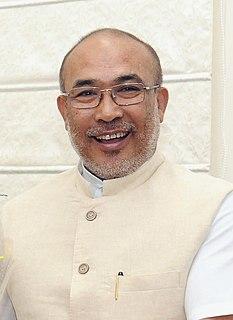 N. Biren Singh Indian politician