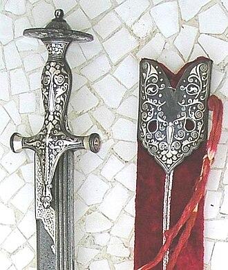 Talwar - Image: The Damascus Blade