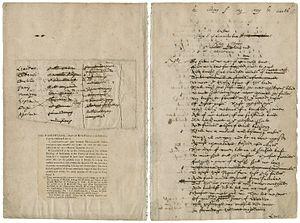 Dering Manuscript - The Dering Manuscript