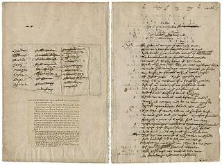 Dering Manuscript 17th-century Shakespeare manuscript