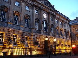 The Exchange, Bristol - The Exchange at dusk