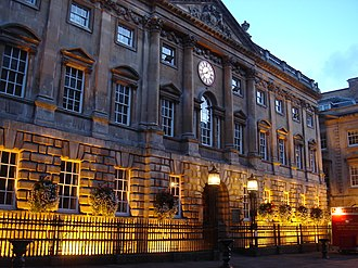 The Exchange, Bristol - The Exchange at dusk