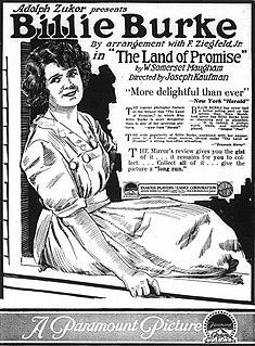 <i>The Land of Promise</i> 1917 film by Joseph Kaufman