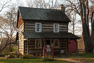 Gahanna, Ohio - The Log House run by the Gahanna Historical Society