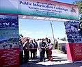 The MLA, Lunglei West Constituency, Shri Chalrosanga inaugurates the Public Information Campaign, at Mualthuam North in Lunglei District of Mizoram on November 26, 2014.jpg