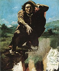 The Man Made Mad with Fear by Gustave Courbet.jpg