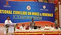 The Minister of State for Mines and Steel, Shri Vishnu Deo Sai addressing at the inauguration of the National Conclave on Mines and Minerals, in Raipur, Chhattisgarh.jpg