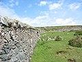 The Moel Rhiwen wall - geograph.org.uk - 452349.jpg