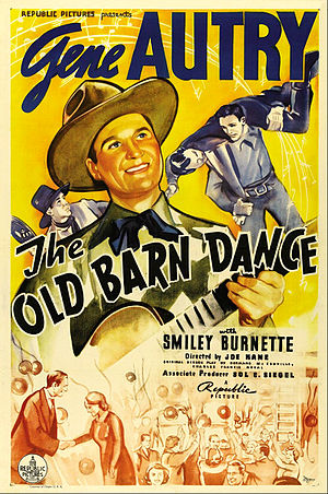 The Old Barn Dance - Theatrical release poster