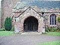 The Parish Church of St Mary, Eccleston, Porch - geograph.org.uk - 622072.jpg