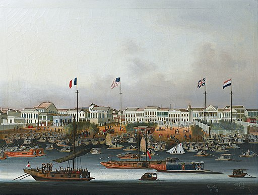 The Port of Canton