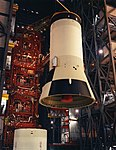 The S-IVB third stage being hoisted into position for mating with the second stage.jpg