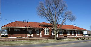 National Register of Historic Places listings in Scott County, Missouri - Image: The Sikeston Depot