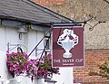 The Silver Cup Public House Sign - geograph.org.uk - 1402493.jpg