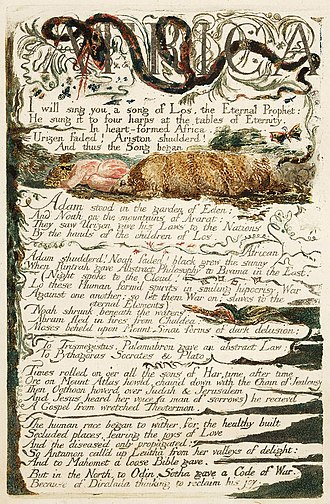 The Song of Los - Image: The Song of Los, copy E, object 3