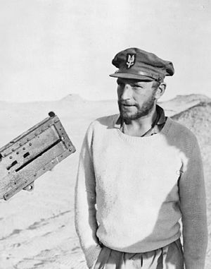 Paddy Mayne - Paddy Mayne near Kabrit, Egypt, in 1942