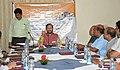 The Union Minister for Human Resource Development, Shri Prakash Javadekar interacting with the Editors, in Kolkata on June 02, 2018. The Director General (M&C), PIB, Kolkata, Shri Anil Kumar Saxena is also seen.JPG
