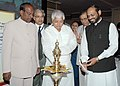 The Union Minister for Railways Shri Lalu Prasad inaugurating the Public-Private Partnership Convention on Indian Railways, in New Delhi on June 15, 2006.jpg