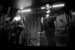 The Vaselines - The Vaselines performing in 2014