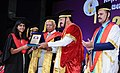 The Vice President, Shri M. Venkaiah Naidu presenting the Degrees to the Students, at the 20th Convocation of Rajiv Gandhi University of Health Sciences, in Bengaluru.jpg