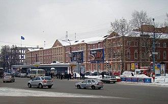 Nizhny Novgorod State Technical University - Image: The Widows house of Bugrov 2