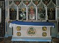The altar at St Peter, Stanton Lacy - geograph.org.uk - 1443361.jpg