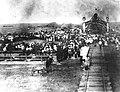 The arrival of the first train in Kokshetau.jpg