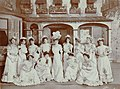 """The famous """"long skirted"""" chorus in """"Marrying Mary"""" (SAYRE 12827).jpg"""