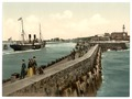 The harbor, Warnemü̈nde, Rostock,Mecklenburg-Schwerin, Germany-LCCN2002713953.tiff