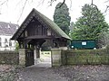 The lych gate at St Matthew, Blackmoor (geograph 1699086).jpg