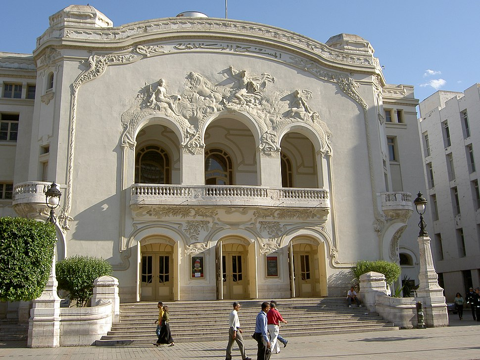 Theatre municipal - Tunis
