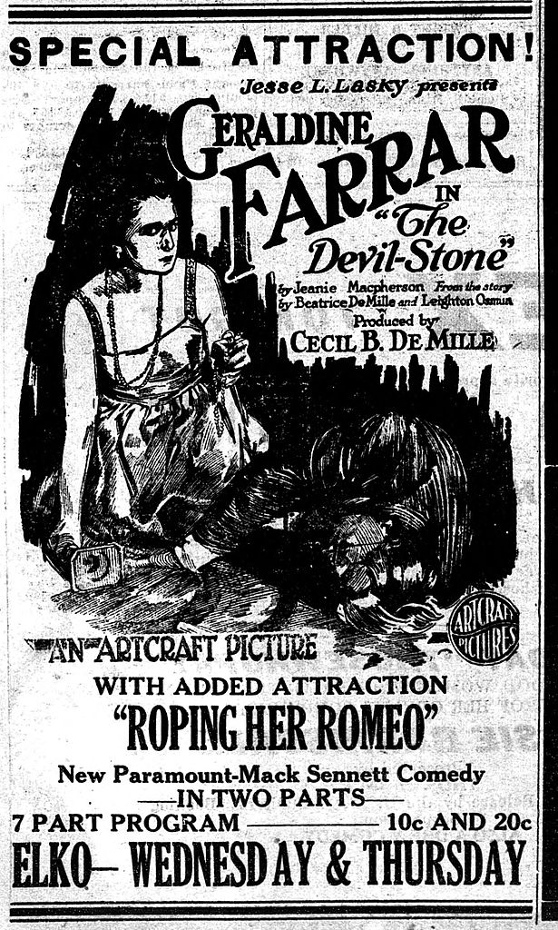 File Thedevil Stone 1918 Newspaper Ad Jpg Wikimedia Commons