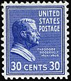 Theodore Roosevelt stamp 30c 1938 issue.JPG