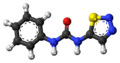 Thidiazuron molecule ball.png