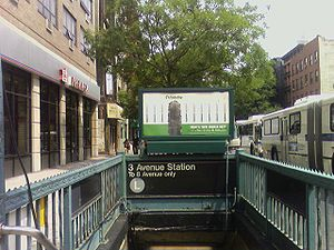 Third Avenue (BMT Canarsie Line) - Entrance to the station