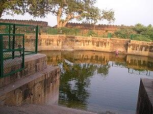Sathyamurthi Perumal Temple - The Temple tank of Thirumayam temple
